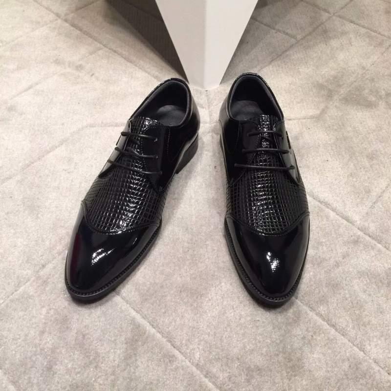Giày Salvatore Ferragamo siêu cấp nam cột dây họa tiết vân da cá sấu GNSF22