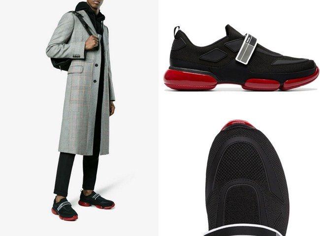 giày sneaker prada