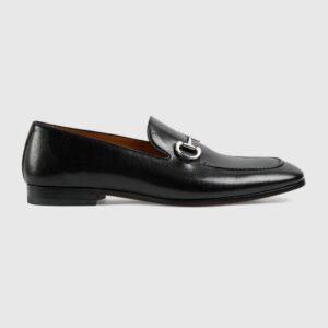 Giày lười Gucci like au đế cao họa tiết da trơn GLGC08