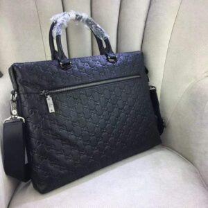 Túi xách nam Gucci siêu cấp gắn logo giữa TXGC01