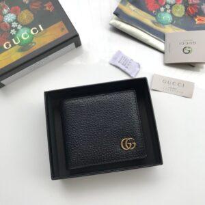 Ví nam Gucci siêu cấp da sần họa tiết chữ G VNGC25