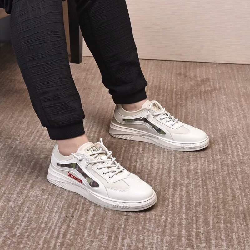 Giày nam Prada siêu cấp họa tiết rằn ri GNP02