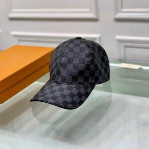 Mũ nam Louis Vuitton siêu cấp họa tiết caro MNLV08