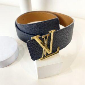 Thắt lưng Louis Vuitton like au hoạ tiết logo mặt đính đá TLLV26