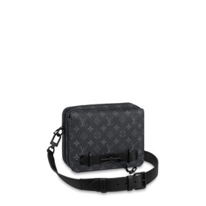Túi đeo chéo nam Louis Vuitton like au hoạ tiết hoa có quai TNLV28